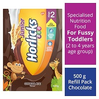 272454 5 Horlicks Junior Health Nutrition Drink Chocolate Flavor Stage 2 4 6 Years