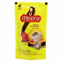 Meera Herbal Hair Wash Powder Rs 4