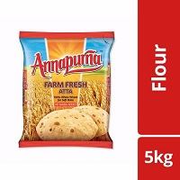 Annapurna Atta Farm Fresh Whole Wheat