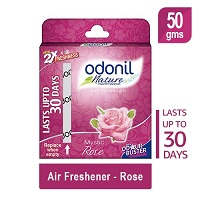 Odonil Toilet Air Freshener Rose