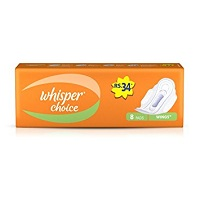 Whisper Choice 8 Pads Regular