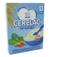 Nestle Cerelac Rice Vegetables Stage 2