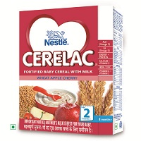 Nestle Cerelac Wheat Apple Cherry Stage 2 Single