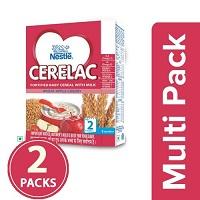 Nestle Cerelac Wheat Apple Cherry Stage 2