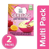 Nestle Cerelac Wheat Rice Mixed Fruit Stage 3 Multi Pack